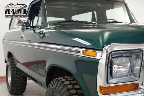 1979 Ford BRONCO XLT RESTORED CONVERTIBLE 400 V8 PS PB AUTO | Denver, CO | Worldwide Vintage Autos in Denver, CO