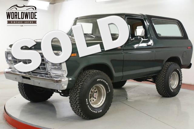 1979 Ford BRONCO 460V8 AUTOMATIC PS PB 4X4 LIFTED  | Denver, CO | Worldwide Vintage Autos in Denver CO