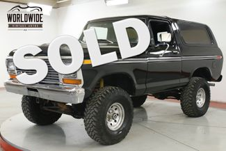 1979 Ford BRONCO  NEW 351M V8. AUTO 4X4 PS PB | Denver, CO | Worldwide Vintage Autos in Denver CO