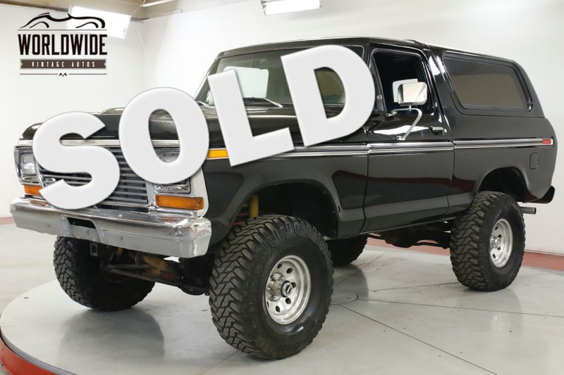 1979 Ford BRONCO  NEW 351M V8. AUTO 4X4 PS PB | Denver, CO | Worldwide Vintage Autos