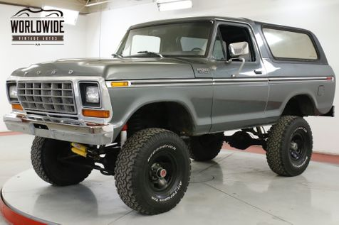 1979 Ford BRONCO 351M 4SPD 4X4 TOP TRACTION LOK 9IN REAR | Denver, CO | Worldwide Vintage Autos in Denver, CO