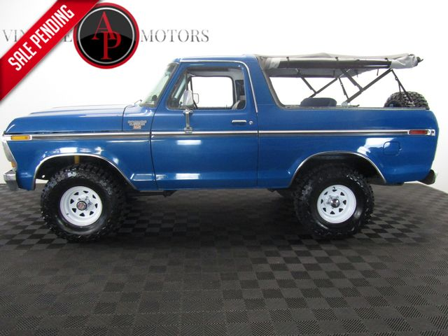 1979 Ford Bronco FUEL INJECTED