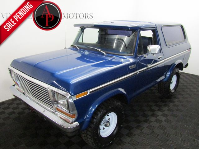 1979 Ford BRONCO REMOVABLE TOP V8 4X4