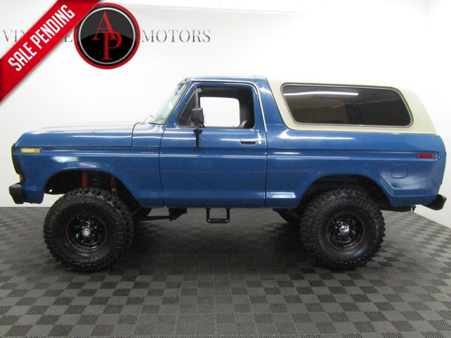 1979 Ford Bronco RANGER XLT PACKAGE AUTO PS PB