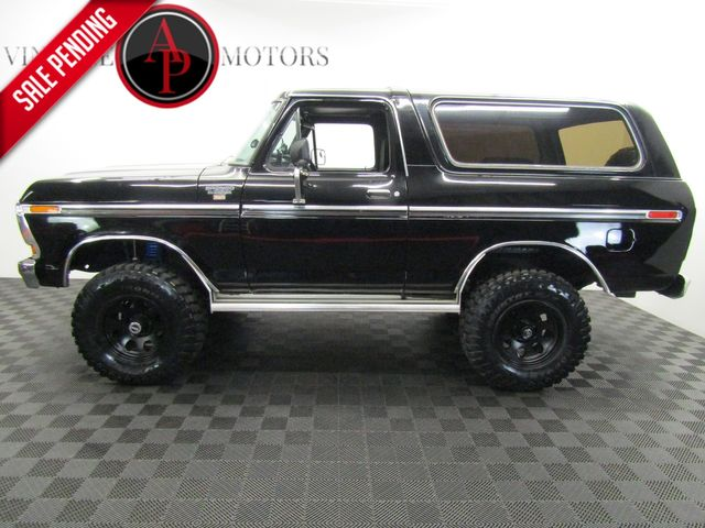 1979 Ford BRONCO FUEL INJECTED RANGER PACKAGE