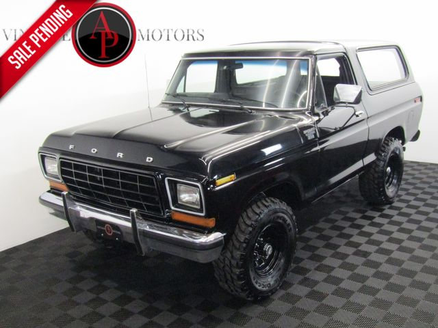 1979 Ford BRONCO V8 AUTO 4X4 RESTORED