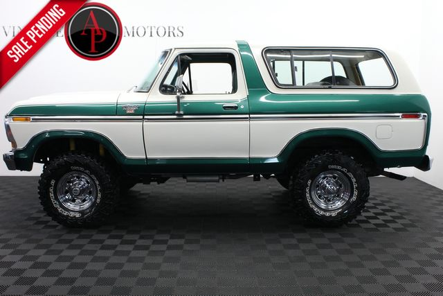 1979 Ford BRONCO RANGER XLT PACKAGE 4X4