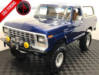 1979 Ford BRONCO V8 AUTO 4 WHEEL DISC in Statesville, NC 28677