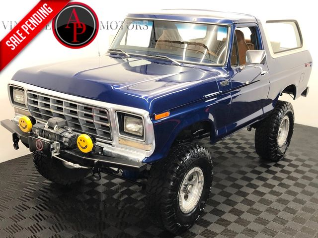 1979 Ford BRONCO V8 AUTO 4 WHEEL DISC