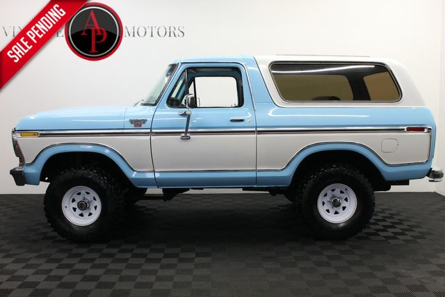1979 Ford BRONCO RANGER XLT PACKAGE 4X4