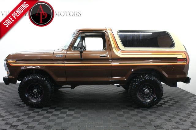 1979 Ford Bronco RARE FREE WHEELING 4 SPEED