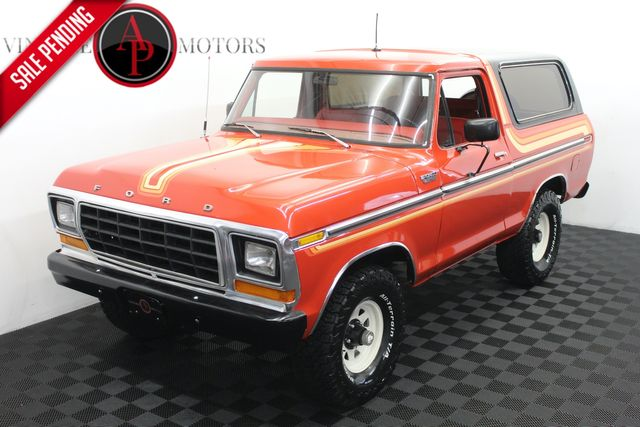1979 Ford Bronco Free Wheeling Package in Statesville, NC 28677