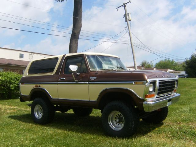 1979 Ford Bronco Ranger XLT 4WD