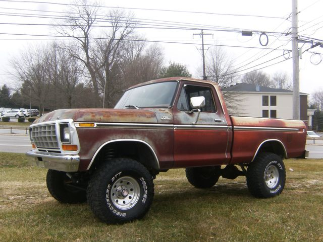 1979 Ford F150 4WD Short Bed