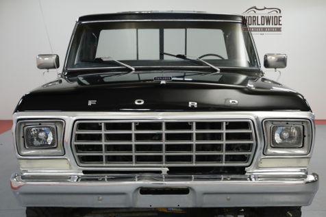 1979 Ford F150 TRUCK. AC. 4x4. 460 V8. AUTO. BLACK. PS. PB.  | Denver, CO | Worldwide Vintage Autos in Denver, CO