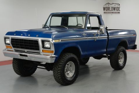 1979 Ford F150 351 V8. 4-SPEED MANUAL. 35 INCH TIRES.  | Denver, CO | Worldwide Vintage Autos in Denver, CO