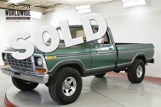 1978 Ford F250 RARE CUSTOM PACKAGE. V8 4X4 PS PB | Denver, CO | Worldwide Vintage Autos in Denver CO