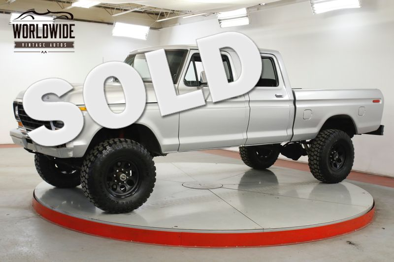 1979 Ford F250  4x4 CREW CAB TRUCK V8 PS PB RARE SHORTBED | Denver, CO | Worldwide Vintage Autos