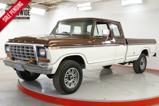 1979 Ford F250 SUPERCAB RARE 4X4 460 V8 AUTOMATIC PS PB  | Denver, CO | Worldwide Vintage Autos in Denver CO