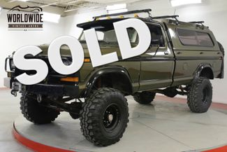 1979 Ford F350 LIFTED 4X4 CUSTOM MAGAZINE BUILD | Denver, CO | Worldwide Vintage Autos in Denver CO