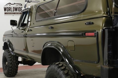 1979 Ford F350 LIFTED 4X4 CUSTOM MAGAZINE BUILD | Denver, CO | Worldwide Vintage Autos in Denver, CO