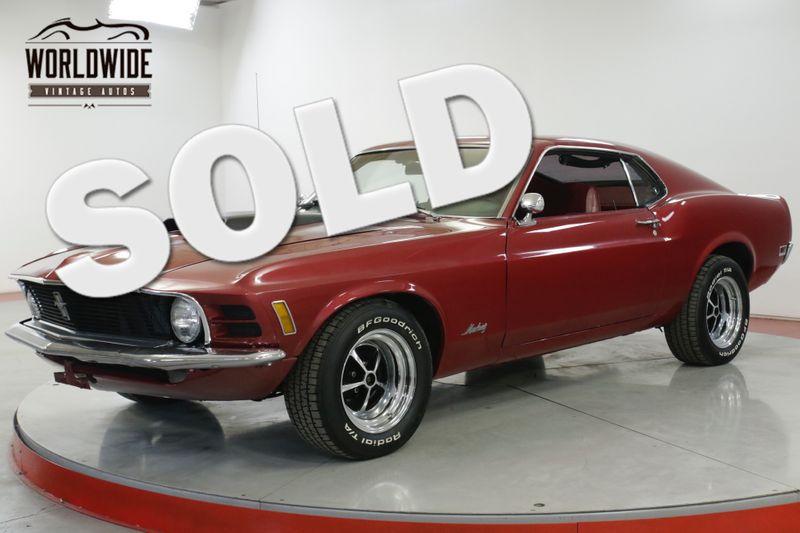 1970 Ford MUSTANG 302 FASTBACK REBUILT ENGINE  | Denver, CO | Worldwide Vintage Autos