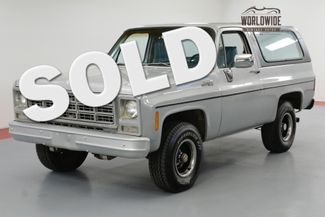 1979 GMC JIMMY 46K ORIGINAL MILES! CONVERTIBLE! 4x4 BLAZER | Denver, CO | Worldwide Vintage Autos in Denver CO