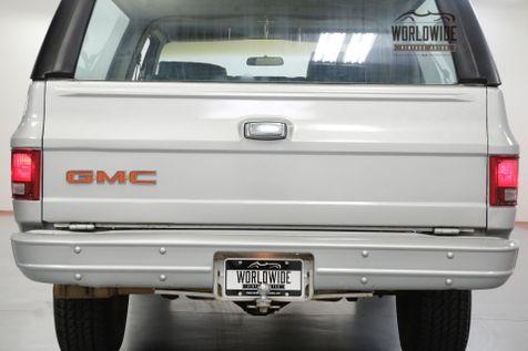 1979 GMC JIMMY 46K ORIGINAL MILES! CONVERTIBLE! 4x4 BLAZER | Denver, CO | Worldwide Vintage Autos in Denver, CO