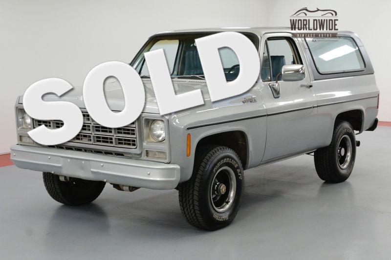 1979 GMC JIMMY 46K ORIGINAL MILES! CONVERTIBLE! 4x4 BLAZER | Denver, CO | Worldwide Vintage Autos
