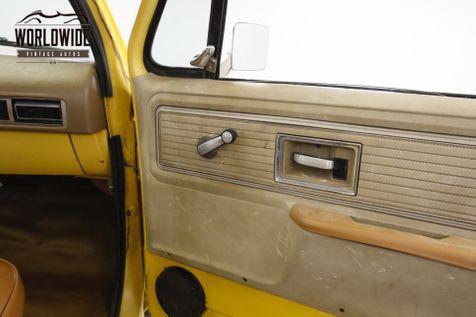 1979 GMC K15 4X4 350 4-SPEED SIERRA GRANDE SHORTBOX 4X4 FACTORY AC  | Denver, CO | Worldwide Vintage Autos in Denver, CO