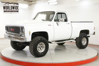 1979 GMC SIERRA 4X4 SHORT BED LIFT PW PS PB DISC 2K MILES  | Denver, CO | Worldwide Vintage Autos in Denver CO