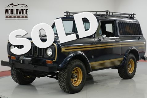 1979 International SCOUT INCREDIBLY RARE MIDNITESTAR PACKAGE! PS.   Denver, CO   Worldwide Vintage Autos in Denver, CO
