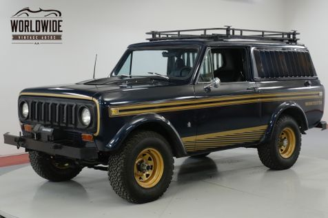 1979 International SCOUT INCREDIBLY RARE MIDNITESTAR PACKAGE! PS. | Denver, CO | Worldwide Vintage Autos in Denver, CO