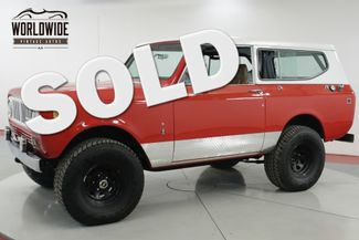 1979 International SCOUT 4X4 PS PB V8 REMOVABLE TOP DESIRABLE YEAR  | Denver, CO | Worldwide Vintage Autos in Denver CO