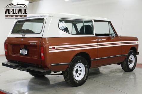 1979 International SCOUT V8 AUTO A/C   Denver, CO   Worldwide Vintage Autos in Denver, CO