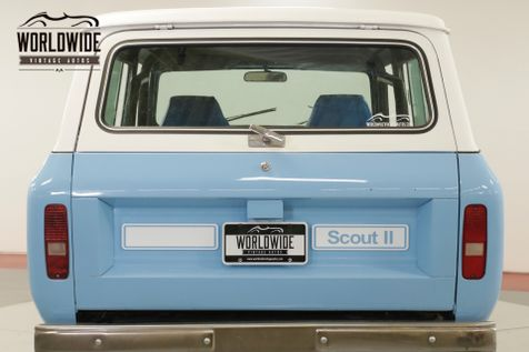 1979 International SCOUT II   RALLYE. RESTORED. 4X4 PS PB V8 AUTO MUST SEE    Denver, CO   Worldwide Vintage Autos in Denver, CO