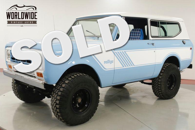 1979 International SCOUT II   RALLYE. RESTORED. 4X4 PS PB V8 AUTO MUST SEE    Denver, CO   Worldwide Vintage Autos