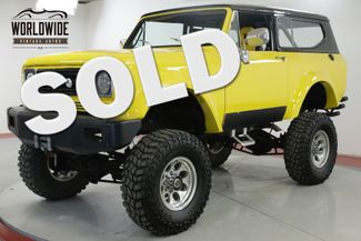 1979 International SCOUT II 401 V8 AUTO PS PB 4X4 WINCH ROLL BAR | Denver, CO | Worldwide Vintage Autos in Denver CO