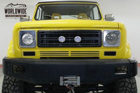 1979 International SCOUT II 401 V8 AUTO PS PB 4X4 WINCH ROLL BAR   Denver, CO   Worldwide Vintage Autos in Denver, CO