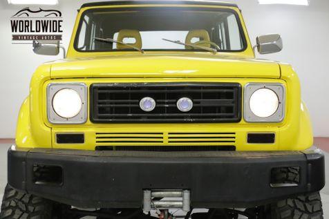 1979 International SCOUT II 401 V8 AUTO PS PB 4X4 WINCH ROLL BAR | Denver, CO | Worldwide Vintage Autos in Denver, CO