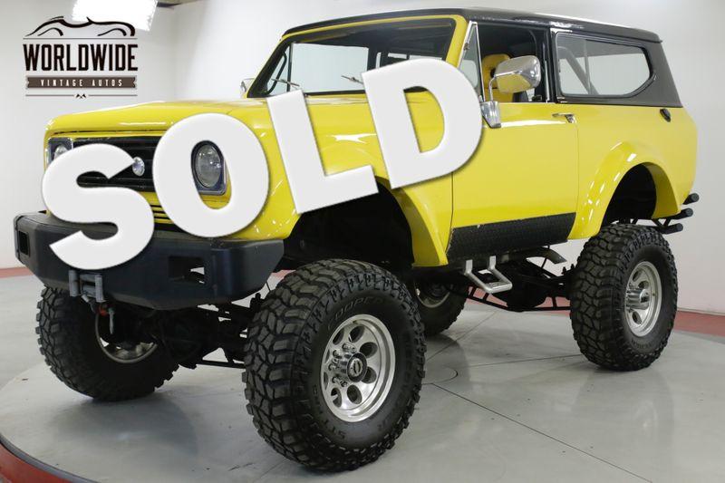 1979 International SCOUT II 401 V8 AUTO PS PB 4X4 WINCH ROLL BAR | Denver, CO | Worldwide Vintage Autos