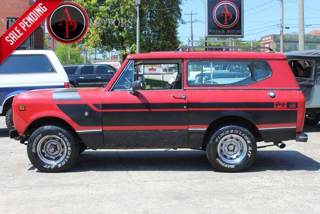 1979 International Scout II V8 4X4 AUTO PS PB AC
