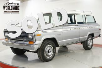 1979 Jeep CHEROKEE V8 3SPD 4X4 FACTORY ROOF RACK PS PB MUST SEE | Denver, CO | Worldwide Vintage Autos in Denver CO