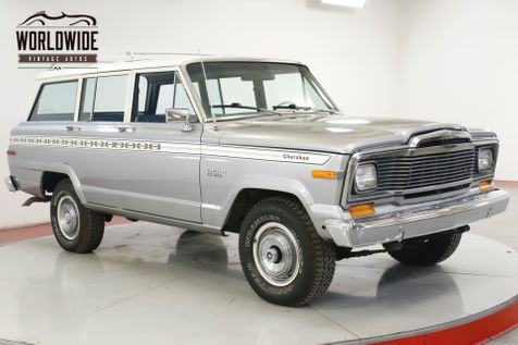 1979 Jeep CHEROKEE V8 3SPD 4X4 FACTORY ROOF RACK PS PB MUST SEE   Denver, CO   Worldwide Vintage Autos in Denver, CO