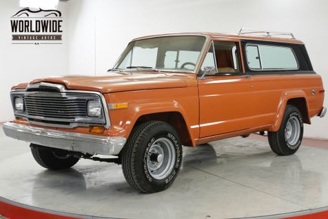 1979 Jeep CHEROKEE 360 V8 QUADRA-TRAC AUTOMATIC 4X4 MUST SEE  | Denver, CO | Worldwide Vintage Autos in Denver, CO