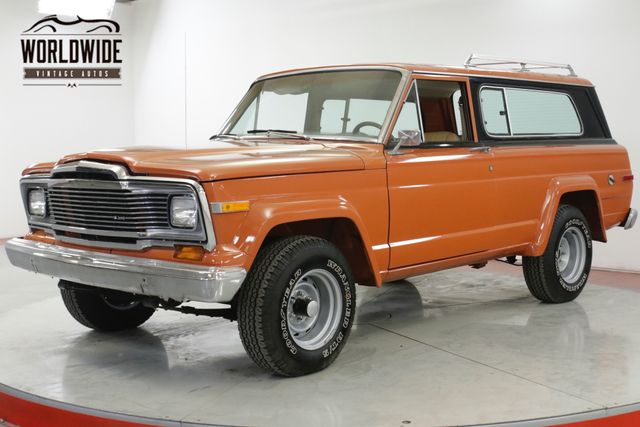 1979 Jeep CHEROKEE 360 V8 QUADRA-TRAC AUTOMATIC 4X4 MUST SEE  | Denver, CO | Worldwide Vintage Autos in Denver CO