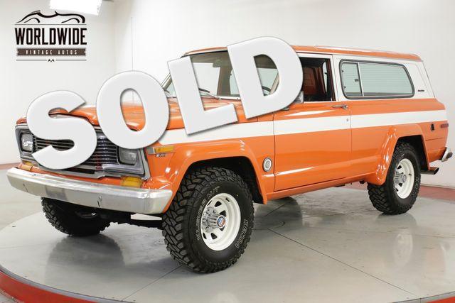1979 Jeep CHEROKEE CHIEF 4X4 PS PB RESTORED HEAD TURNER | Denver, CO | Worldwide Vintage Autos in Denver CO