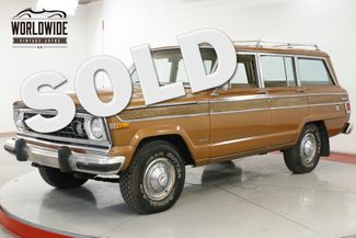 1979 Jeep CHEROKEE 360V8 AUTO 4X4 PS PB  | Denver, CO | Worldwide Vintage Autos in Denver CO