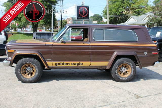 1979 Jeep CHEROKEE GOLDEN EAGLE LEVIS EDITION