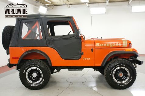 1979 Jeep CJ5 RESTORED 4x4 RENEGADE LIFT MUST SEE PS | Denver, CO | Worldwide Vintage Autos in Denver, CO